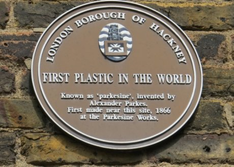 The first plastic